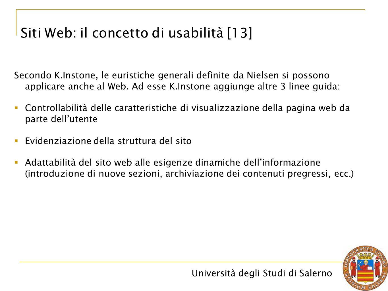 Siti Web: il concetto di usabilità [13]